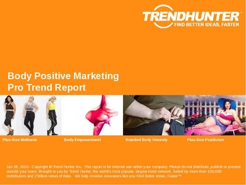 Body Positive Marketing Trend Report and Body Positive Marketing Market Research