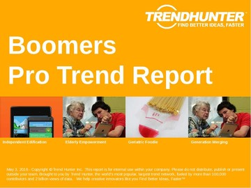 Boomers Trend Report and Boomers Market Research