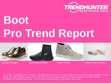 Boot Trend Report and Boot Market Research