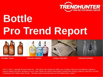 Bottle Trend Report and Bottle Market Research
