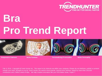Bra Trend Report and Bra Market Research