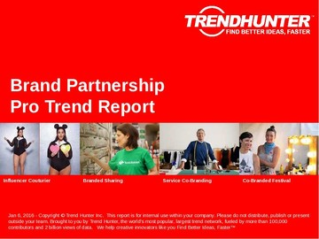Brand Partnership Trend Report and Brand Partnership Market Research
