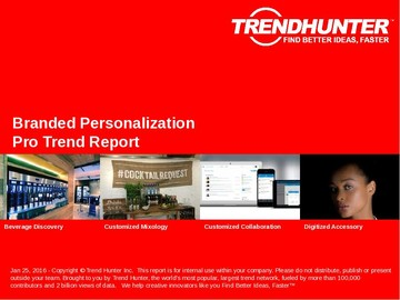 Branded Personalization Trend Report and Branded Personalization Market Research