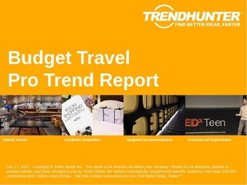 Budget Travel Trend Report and Budget Travel Market Research