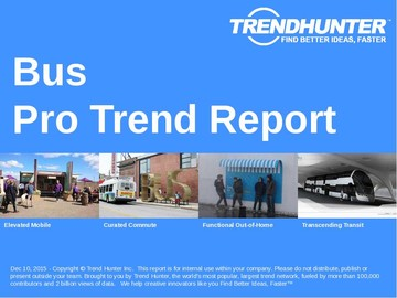 Bus Trend Report and Bus Market Research