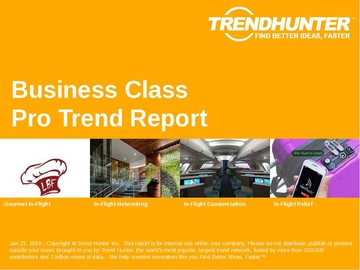 Business Class Trend Report and Business Class Market Research