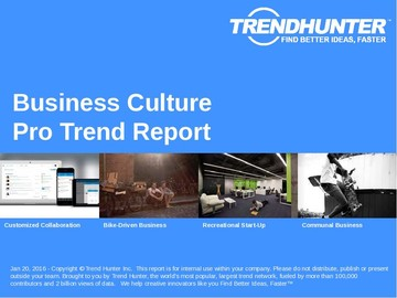 Business Culture Trend Report and Business Culture Market Research