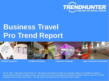 Business Travel Trend Report and Business Travel Market Research