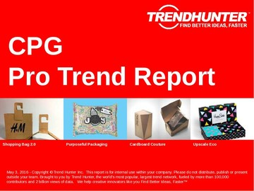 CPG Trend Report and CPG Market Research