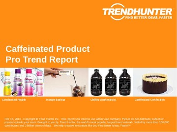 Caffeinated Product Trend Report and Caffeinated Product Market Research