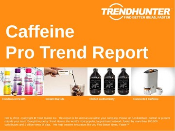 Caffeine Trend Report and Caffeine Market Research