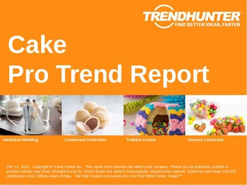 Cake Trend Report and Cake Market Research