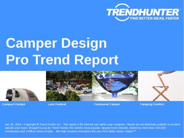 Camper Design Trend Report and Camper Design Market Research