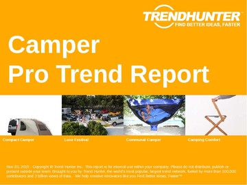 Camper Trend Report and Camper Market Research