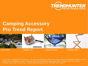 Camping Accessory Trend Report and Camping Accessory Market Research