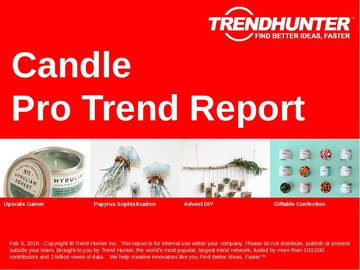 Candle Trend Report and Candle Market Research