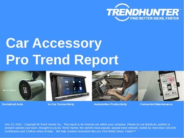 Car Accessory Trend Report and Car Accessory Market Research