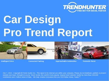 Car Design Trend Report and Car Design Market Research