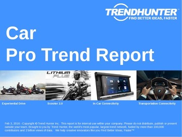 Car Trend Report and Car Market Research