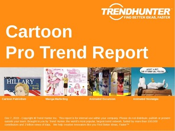 Cartoon Trend Report and Cartoon Market Research