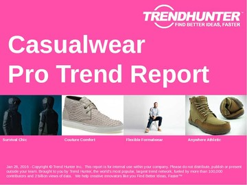 Casualwear Trend Report and Casualwear Market Research