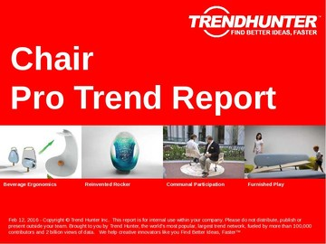 Chair Trend Report and Chair Market Research