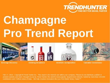 Champagne Trend Report and Champagne Market Research