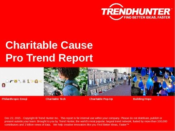 Charitable Cause Trend Report and Charitable Cause Market Research