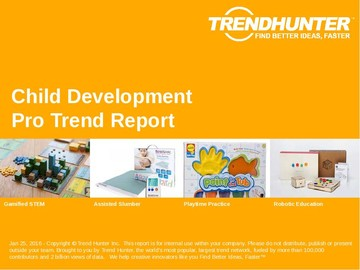 Child Development Trend Report and Child Development Market Research
