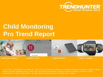 Child Monitoring Trend Report and Child Monitoring Market Research
