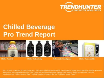 Chilled Beverage Trend Report and Chilled Beverage Market Research
