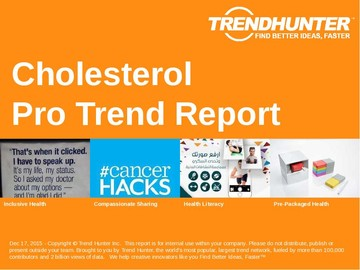 Cholesterol Trend Report and Cholesterol Market Research