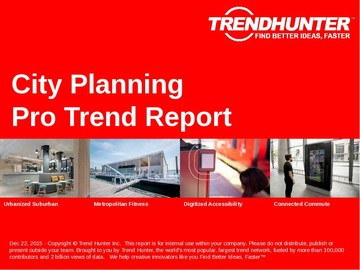 City Planning Trend Report and City Planning Market Research