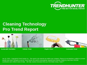 Cleaning Technology Trend Report and Cleaning Technology Market Research