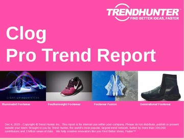 Clog Trend Report and Clog Market Research