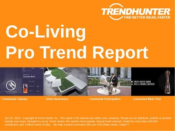 Co-Living Trend Report and Co-Living Market Research