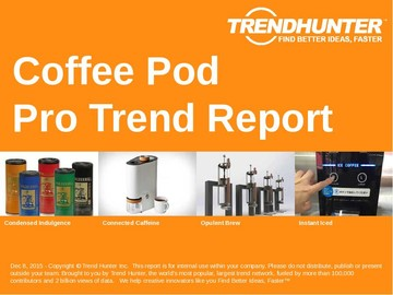 Coffee Pod Trend Report and Coffee Pod Market Research