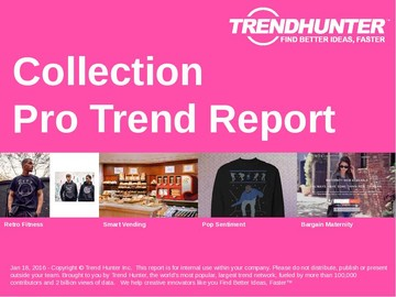 Collection Trend Report and Collection Market Research