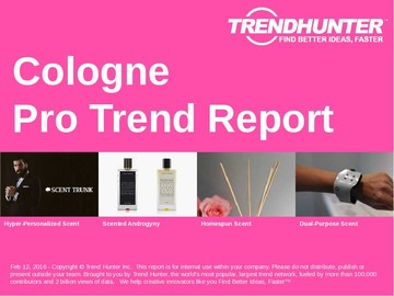 Cologne Trend Report and Cologne Market Research