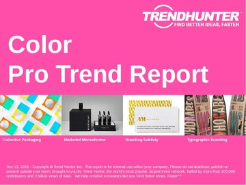 Color Trend Report and Color Market Research