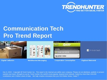 Communication Tech Trend Report and Communication Tech Market Research