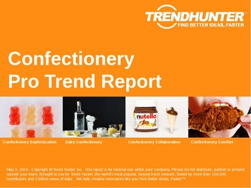 Confectionery Trend Report and Confectionery Market Research