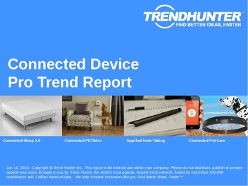 Connected Device Trend Report and Connected Device Market Research