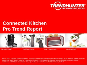 Connected Kitchen Trend Report and Connected Kitchen Market Research