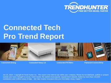 Connected Tech Trend Report and Connected Tech Market Research