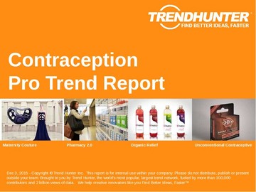 Contraception Trend Report and Contraception Market Research