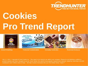 Cookies Trend Report and Cookies Market Research