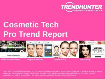 Cosmetic Tech Trend Report and Cosmetic Tech Market Research