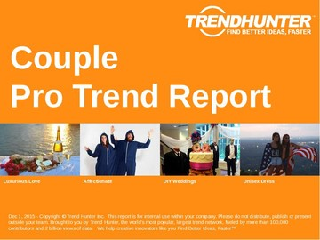 Couple Trend Report and Couple Market Research