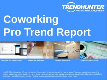 Coworking Trend Report and Coworking Market Research